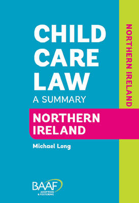 Child Care Law Northern Ireland (Paperback)