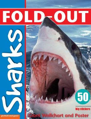 Fold-Out Sharks Sticker Book - Fold-Out Poster Sticker Books
