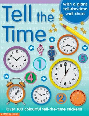 Tell the Time Sticker Book (Paperback)