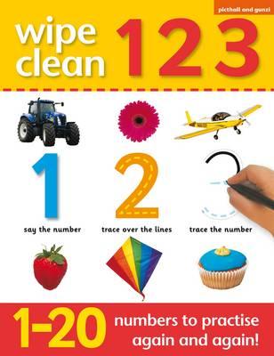 Wipe Clean 1 2 3 (Paperback)