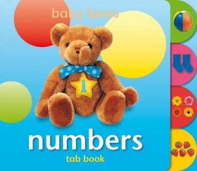 Numbers - Tab-Tots S. (Board book)