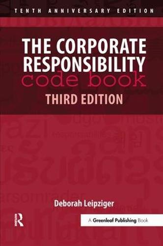 The Corporate Responsibility Code Book (Hardback)