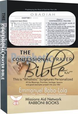The Confessional Prayer Bible: Praying the Word of God into Your Life (Leather / fine binding)