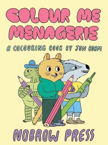 Colour Me Menagerie (Paperback)