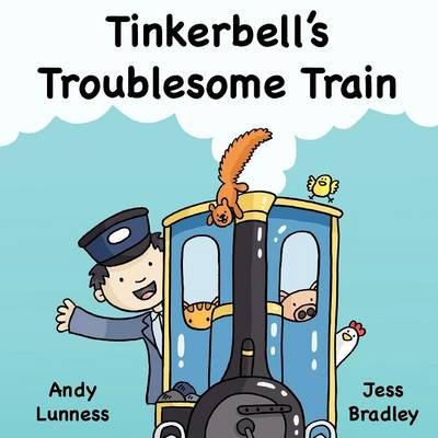 Tinkerbell's Troublesome Train (Paperback)