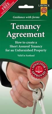 Unfurnished Tenancy Agreement Form Pack (Scotland)