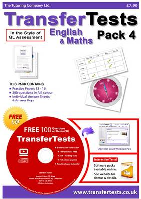 Transfer Tests English and Maths Multiple Choice Format: Transfer Test Northern Ireland Pack 4