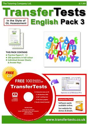 Transfer Tests English Multiple Choice Format: Transfer Test Northern Ireland Pack 3