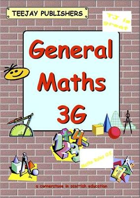 TeeJay General Maths: Bk.3G (Paperback)