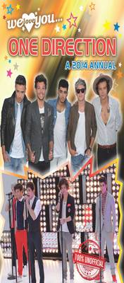 One Direction: A 2014 Annual (Hardback)