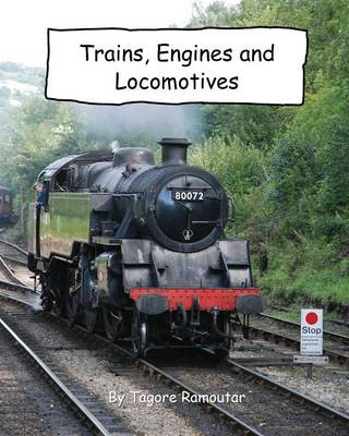 Trains, Engines and Locomotives (Paperback)