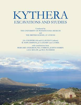 Kythera Excavations and Studies (Paperback)
