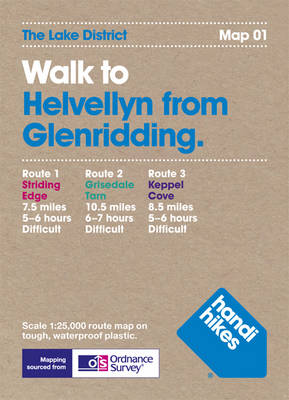 Walk to Helvellyn from Glenridding - Lake District 1 (Hardback)