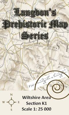 Langdon's Prehistoric Map Series: Wiltshire Section K1 (Sheet map, folded)