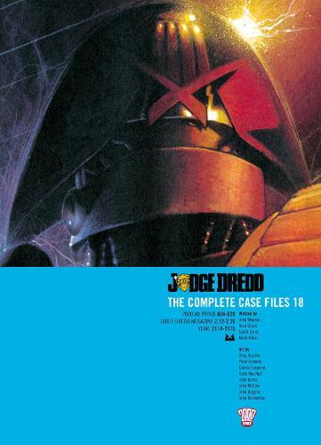 Judge Dredd: Complete Case Files: v. 18 (Paperback)