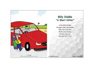 "Billy Diddle ""A Short Hitter"" - Back 9 Edition (Poster)"
