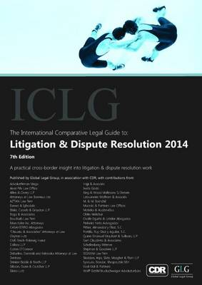 The International Comparative Legal Guide to: Litigation & Dispute Resolution 2014 - The International Comparative Legal Guide Series (Paperback)