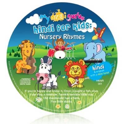 Hindi for Kids Nursery Rhymes: English with a Hindi Twist - Kids Learn Languages (CD-Audio)