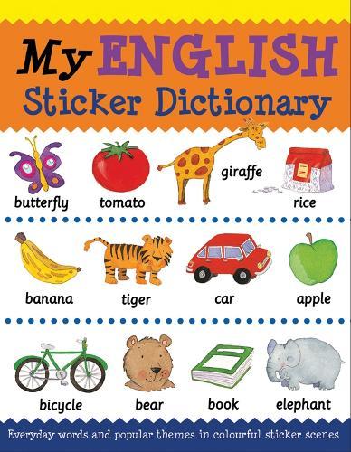My English Sticker Dictionary - Language Sticker Books (Paperback)