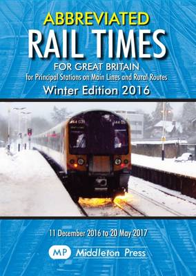 Abbreviated Rail Times for Great Britain (Paperback)