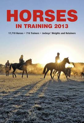 Horses in Training 2013 (Paperback)