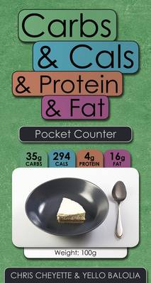 Carbs & Cals & Protein & Fat Pocket Counter (Paperback)