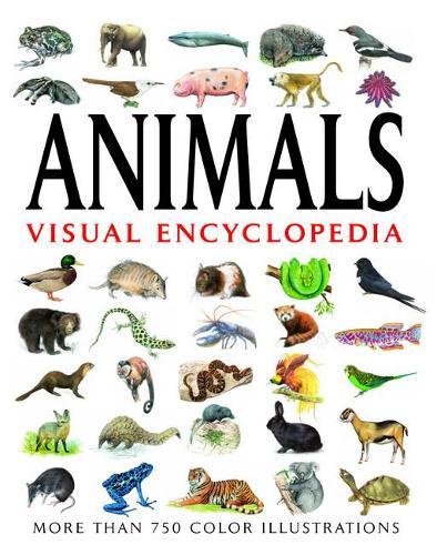 Animals Visual Encyclopedia: More than 750 colour illustrations - Visual Encyclopedia (Paperback)