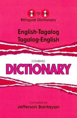English-Tagalog & Tagalog-English One-to-One Dictionary - One-to-One (Hardback)