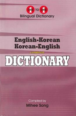 English-Korean & Korean-English One-to-one Dictionary: Suitable for Exams (Hardback)