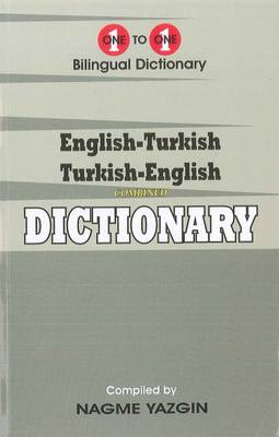 English-Turkish & Turkish-English One-to-One Dictionary (Exam-Suitable) 2015 (Paperback)