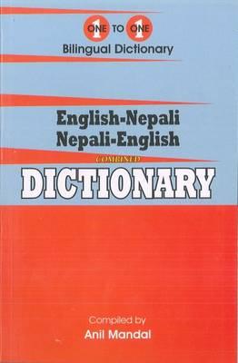 One-to-one dictionary: English-Nepali & Nepali-English dictionary (Hardback)