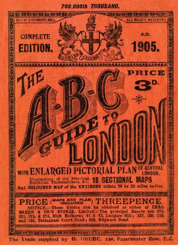The A-B-C Guide to London (Paperback)