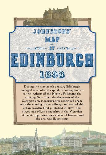 Map of Edinburgh, 1893 (Sheet map)