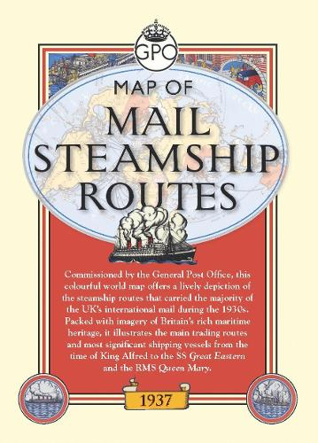 Mail Steamship Routes (Sheet map)