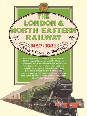 London & North Eastern Railway Map, 1924 (Sheet map)