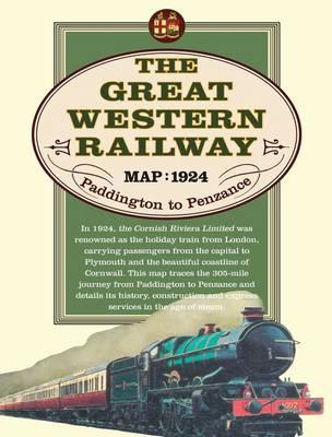 Great Western Railway Map, 1924 (Sheet map)