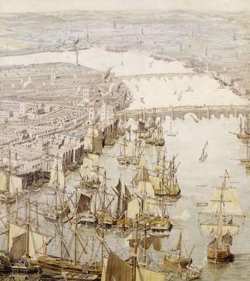 Rhinebeck Panorama of Nelson's London, c.1806 (Sheet map)