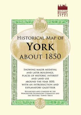 Map of York, C1850 - Old House (Sheet map)