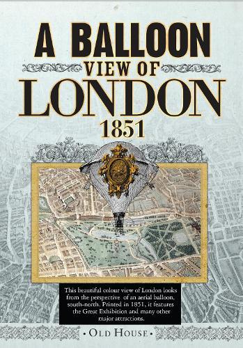 Balloon View of London, 1851 (Sheet map)