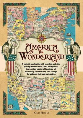 America the Wonderland map, 1941: A Pictorial Map of the United States (Sheet map)