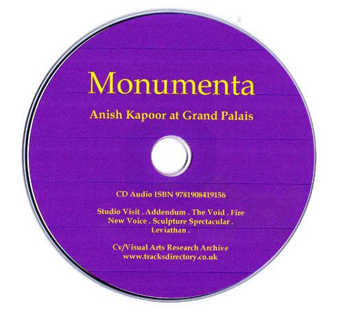 Monumenta: Anish Kapoor at Grand Palais (CD-Audio)