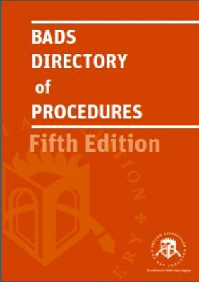 Bads Directory of Procedures (Paperback)