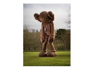KAWS Catalogue at Yorkshire Sculpture Park (Paperback)