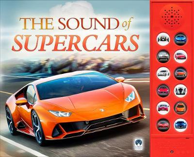 The Sound of Supercars (Board book)