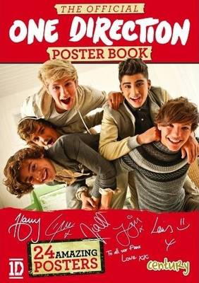 The Official One Direction Poster Book (Paperback)