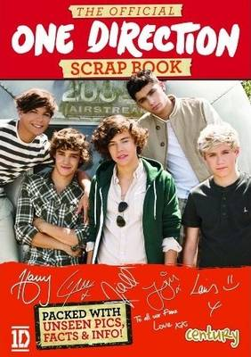 The Official One Direction Sticker Book (Paperback)