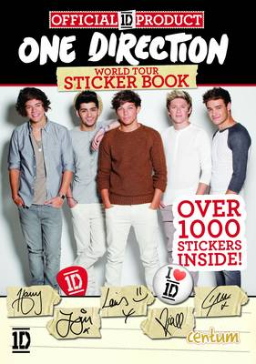 One Direction World Tour Sticker Book (Paperback)