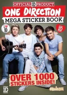 One Direction Mega Sticker Book (Paperback)