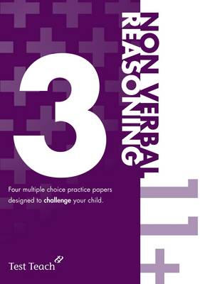 11+ Non Verbal Reasoning Practice Papers 3 (Paperback)