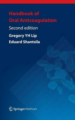 Handbook of Oral Anticoagulation (Paperback)